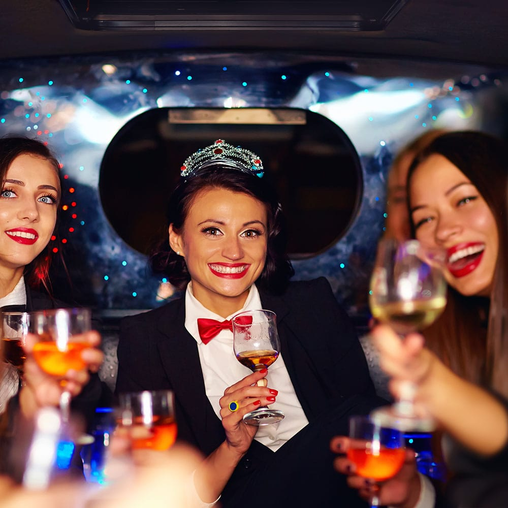 Limousine service Rockford illinois night on the town